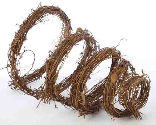 Hand Woven Natural Twig Garland for Home Decor, Crafting and Embellishing