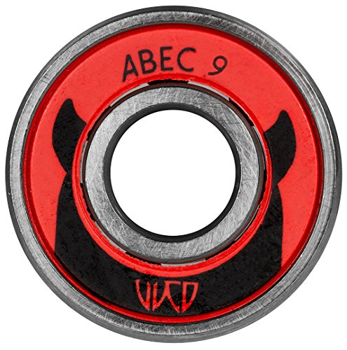 Wicked Powerslide ABEC 9 Inline Bearings - 16pk (ABEC, used for sale  Delivered anywhere in USA