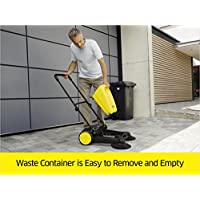 Karcher Outdoor Push Sweeper - easy to remove waste