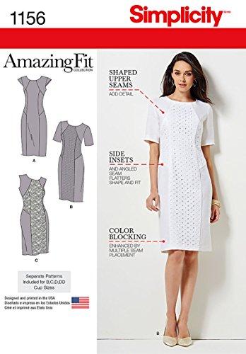 Princess Seam Dress Pattern - 6