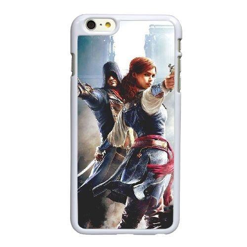 Creed Unité de K2J50 N5J4VL coque iPhone 6 4.7 pouces cas de couverture de téléphone portable coque blanche FW8PQM6YM