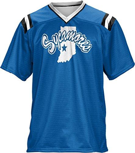 ProSphere Boys' Indiana State University Goal Line Football Fan Jersey - Haute Indiana Terre Shopping
