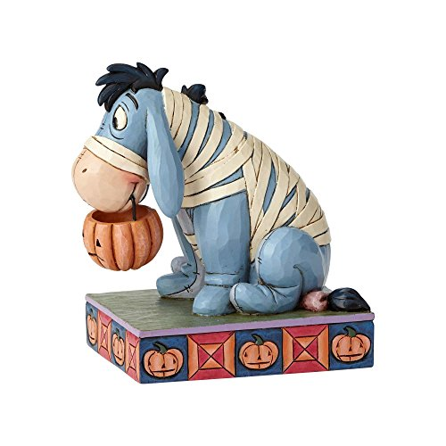 Enesco Disney Traditions by Jim Shore Eeyore Mummy Costume Figurine, 5.5
