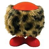 J W Pet Fuzz Cuz Rubber Dog Toy, Assorted, Large, My Pet Supplies