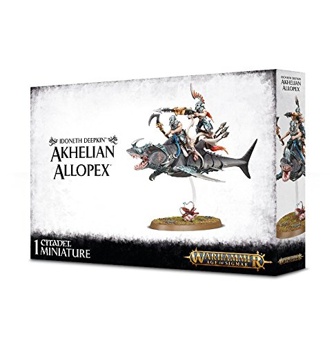 Price comparison product image Games Workshop Warhammer Age of Sigmar Idoneth Deepkin Akhelian Allopex Miniature