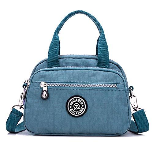 Outreo 4 Sport Mode Sac Sac Sac bandoulière à Sacoche Sac Loisir Bag bleu pour Petit Besace Sac Fille Léger Femme Imperméable de épaule Porté Main pqprwFS