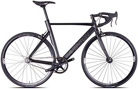Aventon Bicicleta Pista Fijación Fijo Mataro Negro Aluminio Talla 55 (Fijación Fijo Urban)/Frame Juego Track Fixed Gear Mataro Black Aluminium Size 55 (Fixed Urban): Amazon.es: Deportes y aire libre