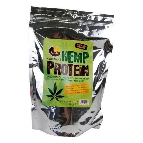 (2 Pack) - Pulsin - Hemp protein powder   1000g   2 PACK BUNDLE by PULSIN' SNACKS