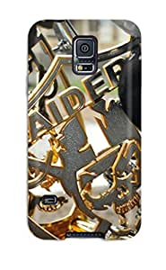Zheng caseDefender Case With Nice Appearance (oaklandaiders ) For Galaxy S5