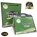 LIGHTSMAX Effective Moth Traps Against Clothes Moths | Odor-Free & Natural | The Best Defense Against Clothes Moths and Indian Meal Moths Prevention (5)