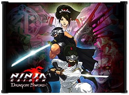 Amazon Com Ninja Gaiden Dragon Sword Game Fabric Wall Scroll Poster 21 X16 Inches Prints Everything Else