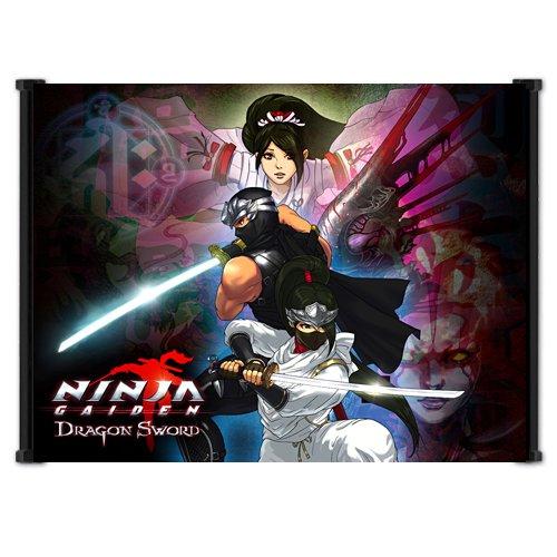 Amazon.com : Ninja Gaiden Dragon Sword Game Fabric Wall ...