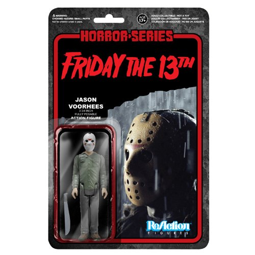 ' Friday the 13th ' [ Re- action ] 3.75 inches action figures ' horror ' series 1 Jason Voorhees