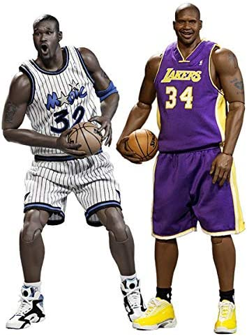 Enterbay Shaquille Neal Duo Set 1/6 Sixth Scale NBA Basketball Player Action Figure Authentic