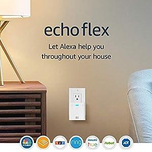 Best Epic Trends 51iVlnCEbzL._SS300_ Echo Flex - Plug-in mini smart speaker with Alexa