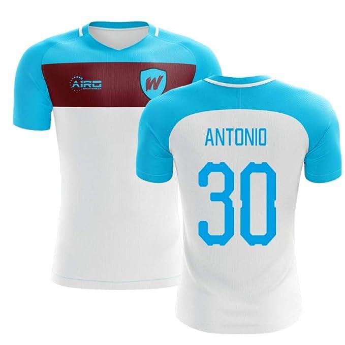 Airosportswear Camiseta de fútbol 2019-2020 West Ham Away Concept ...