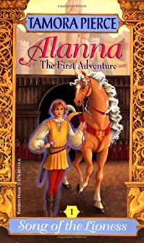 Alanna: The First Adventure Tamora Pierce science fiction and fantasy book and audiobook reviews Children Young Adult science fiction and fantasy book and audiobook reviews