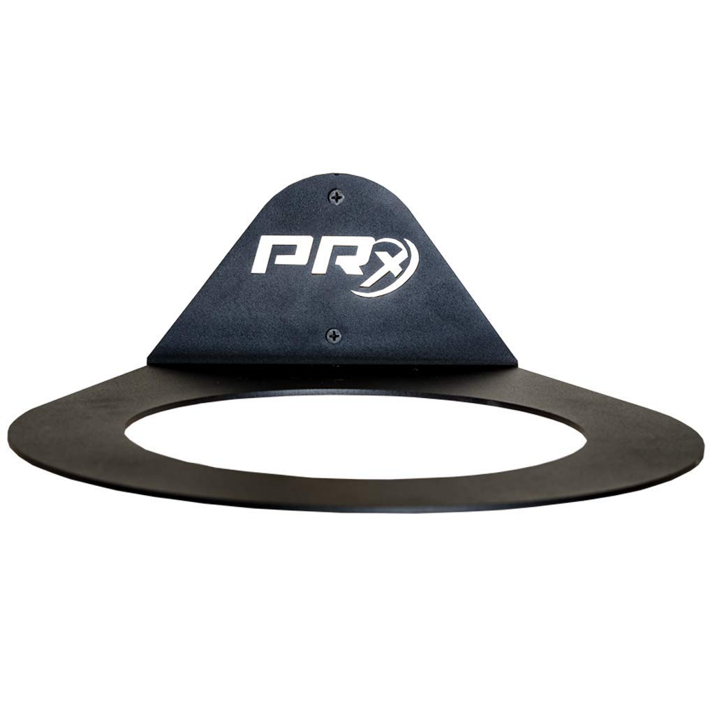 PRx Performance Medicine Ball Storage, Exercise Ball Holder, Wall Mounted, Powder Coated, Space Saving Home Gym by PRx Performance (Image #1)