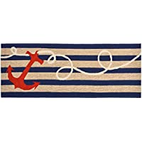 Area Rugs - Anchor Bay Rug - 27 X 72 Runner - Nautical Indoor Outdoor Rug