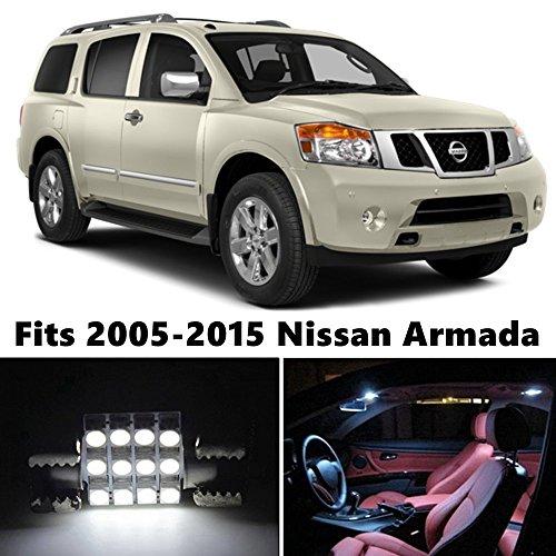 18-x-premium-xenon-white-led-lights-interior-package-kit-for-nissan-armada-2005-2015