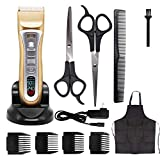 Professional PET Rechargeable Hair Clipper LCD Monitor Safe Noiseless Fast Charging