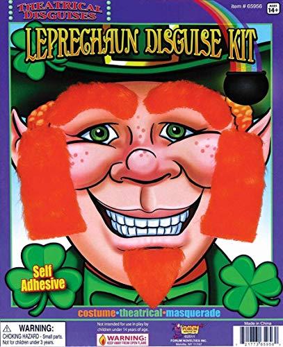 Luck O' the Irish Leprechaun Facial Hair Disguise Kit