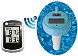 Ambient Weather WS-42 Wireless with Indoor Temperature and Floating Pool and Spa Thermometer