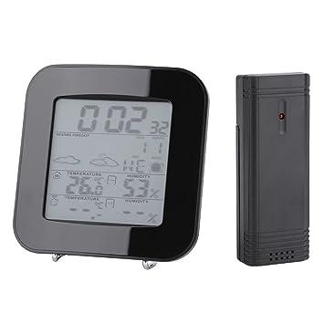 Estación meteorológica inalámbrica/Relojes de monitoreo meteorológico/Termómetro digital Higrómetro Interior/exterior /