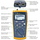 Fluke Networks CIQ-100 Copper Qualification Tester, Qualifies and Troubleshoots Category 5-6A Cabling for 10/100/Gig Ethernet, Coax and Voip