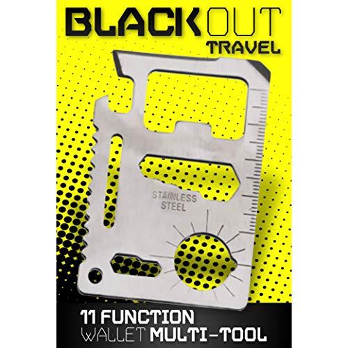 el 11-Function Stainless Steel Travel Pocket Tool ()