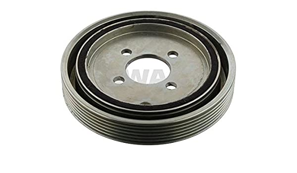 Amazon.com: SWAG Crankshaft Belt Pulley Fits CITROEN C5 Xsara MPV PEUGEOT 406 1.8L 515.N7: Automotive