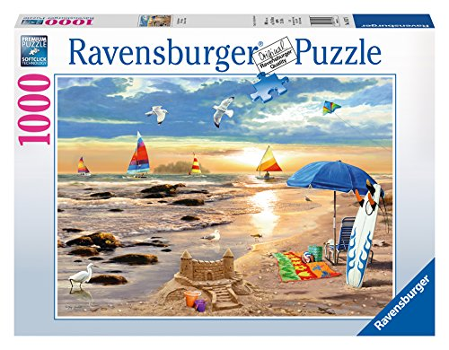 Ravensburger Ready for Summer Puzzle (1000-Piece) (Beach Puzzle 1000 Piece compare prices)