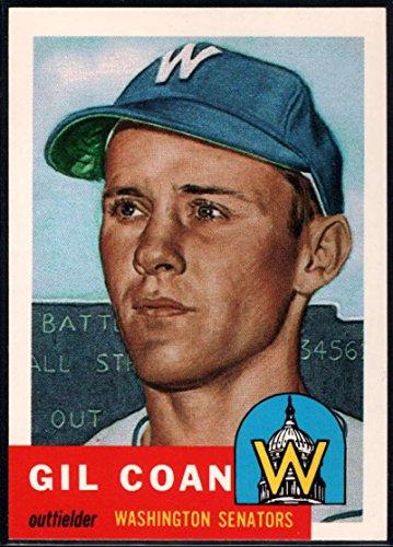 (Baseball MLB 1991 Topps Archives 1953#133 Gil Coan Senators)