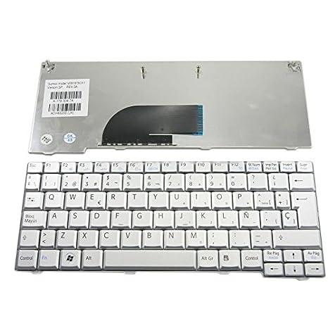 PPSL Teclado español para Sony Vaio VPC-M12 Plata/Silver Origen Madrid: Amazon.es: Electrónica