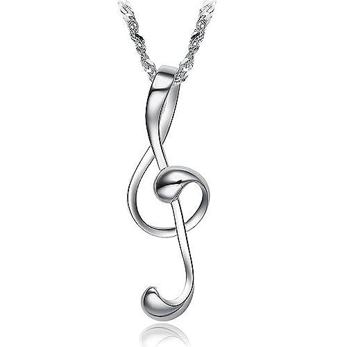 NOTE MUSICALI Simbolo MUSICA ARGENTO 925