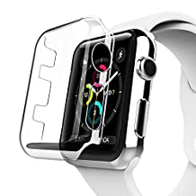 Apple Watch Series 2 Case, Benuo [Defender Series] Protective HD Clear PC Screen Protector [Ultra Thin], Lifetime Replacements Cover Case for Apple Watch Series 2/Edition/Nike+ 38mm