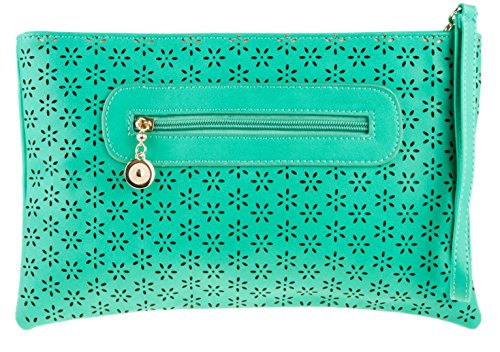 Girly HandBags - Cartera de mano para mujer Verde - verde