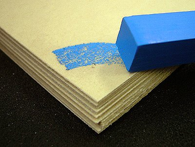 Uart 500 Archival Sanded Pastel Paper- Eight 9x12 Inch Sheets by Uart