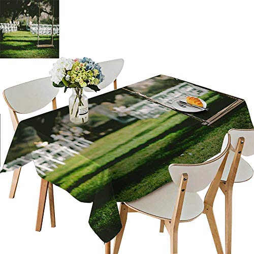 UHOO2018 Square/Rectangle Polyester The Swing in The Garden for Indoor and Outdoor Use,54 x102inch (Best Bbq In Katy)