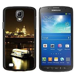 """Be-Star Único Patrón Plástico Duro Fundas Cover Cubre Hard Case Cover Para Samsung i9295 Galaxy S4 Active / i537 (NOT S4) ( Noche Ferry"""" )"""