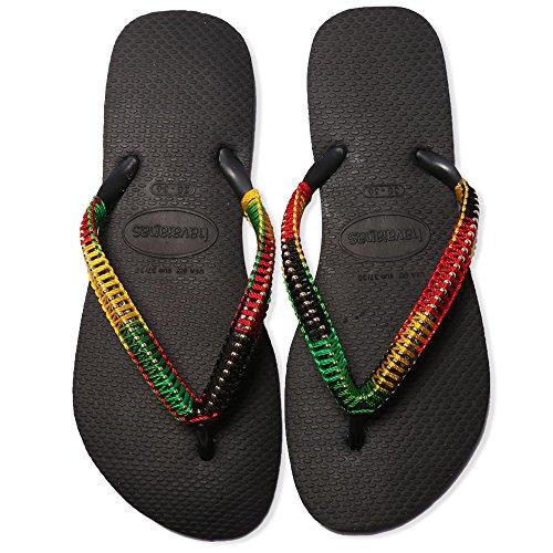 Flip Flops Women Sandals, Custom Made Braided