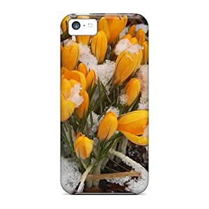 XiFu*MeiMycase88 KUm8117OAPB Cases Covers Skin For iphone 6 plua 5.5 inch (mother S Day Beautiful Flower Winter Roses)XiFu*Mei