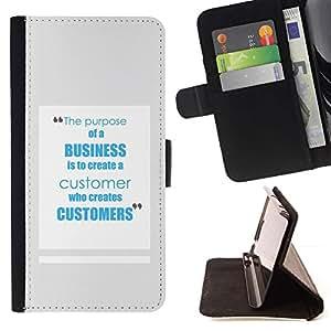 Momo Phone Case / Flip Funda de Cuero Case Cover - Service de travail inspirant - Samsung Galaxy A5 ( A5000 ) 2014 Version