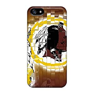 High Quality Hard Phone Cover For Iphone 5/5s (ZuF15992fvwA) Customized Beautiful Washington Redskins Series