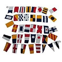 Set of 40 International Maritime Nautical Marine Signal Code Flags