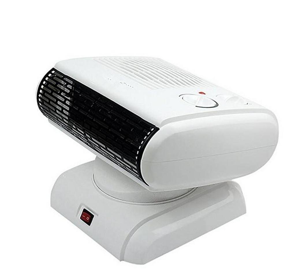 Acquisto KDLD riscaldatore ® Riscaldatore elettrico per casa Mini Purificatore d'aria multiplo 180 ° Ruota di alta qualità Risparmio energetico Radiatore 500W, bianco Prezzi offerte