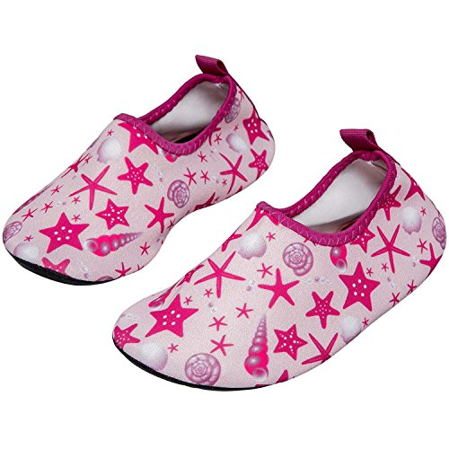 c9bd93e5801d Image Unavailable. Image not available for. Color  MOERDENG Girls Boys  Lightweight Water Shoes Soft Barefoot Shoes Quick-Dry Aqua Socks