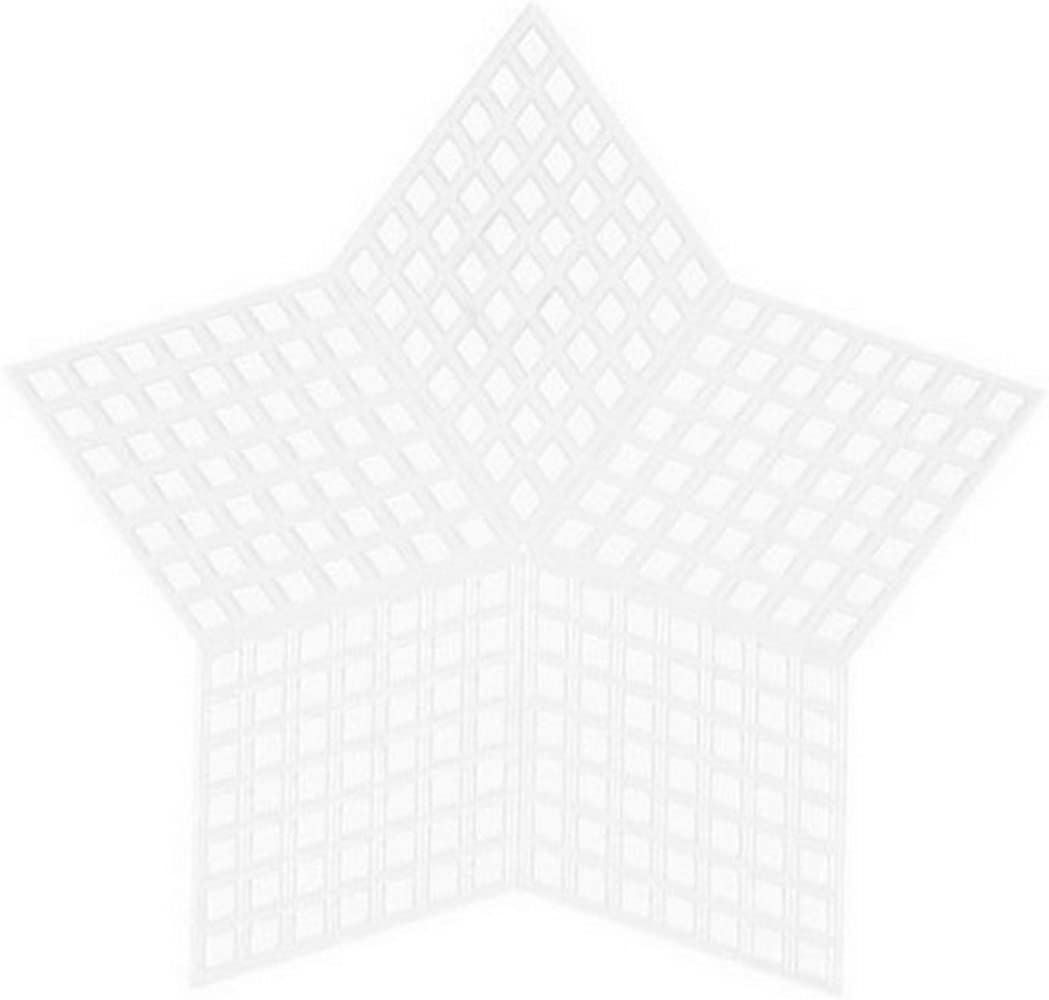 33069 Bundle with 1 Artsiga Crafts Small Bag 3 Pack Darice DIY Crafts Supplies Plastic Canvas Shape Star 3 1//4 inches 10 Piece