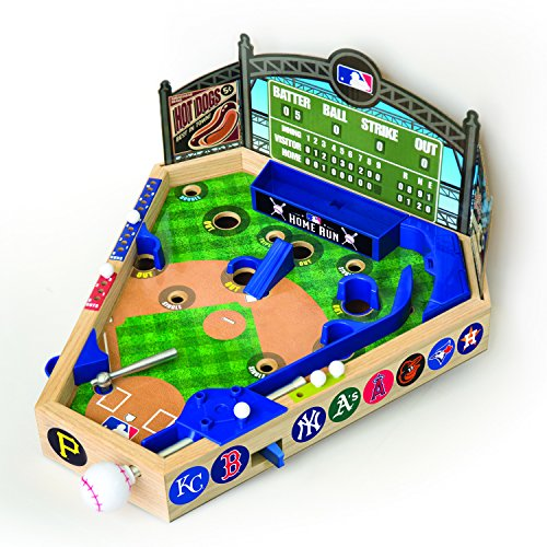 MLB Wooden Pinball Baseball Game (Pinball Games Sports)