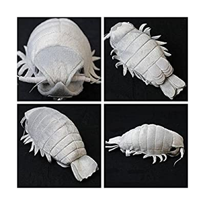 Sea Creature Giant Isopod Realistic Stuffed Plush Doll (M Size) / 20 cm by TSTADVANCE: Toys & Games